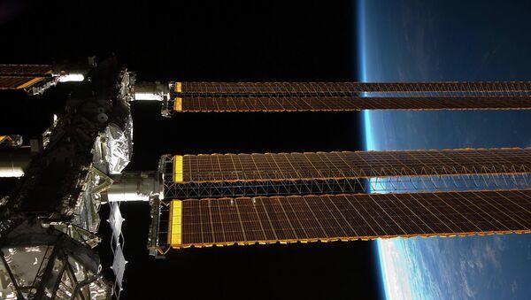 Вид на МКС. 2009 год - Sputnik France
