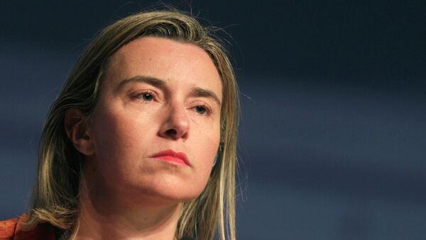 La chef de la diplomatie européenne Federica Mogherini - Sputnik France