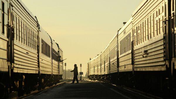 Рейс поезда За духовное возрождение России - Sputnik France