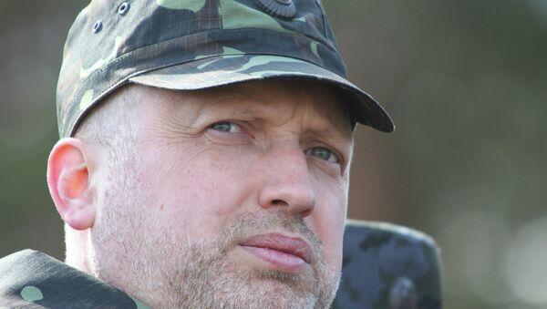 Secrétaire du Conseil de sécurité nationale et de défense ukrainien Alexandre Tourtchinov - Sputnik France