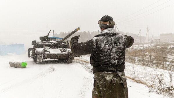 Militaires ukrainiens dans la région de Lougansk. Archives - Sputnik France