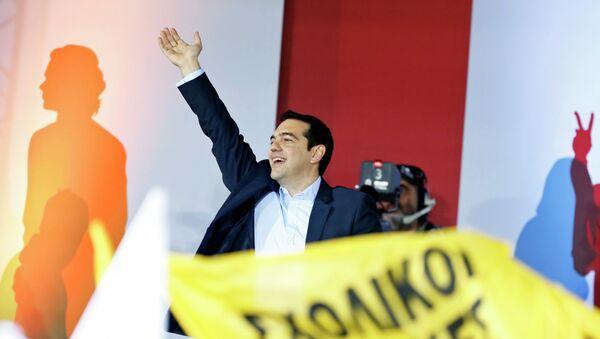 Alexis Tsipras - Sputnik France