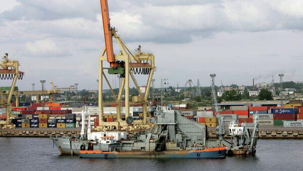 Le port de Riga (photo d'archives) - Sputnik France