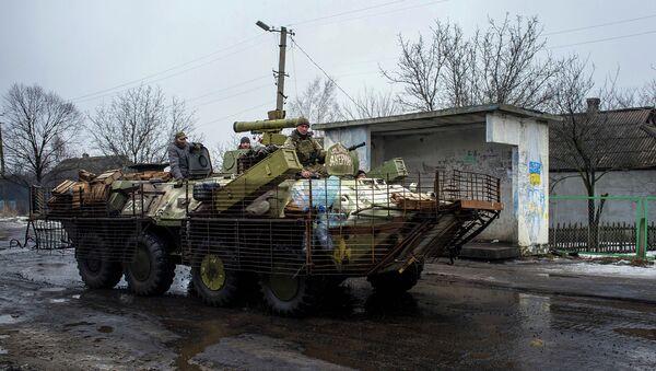 Militaires ukrainiens près de Donetsk - Sputnik France