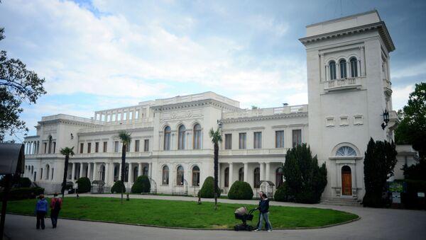 Palais de Livadie en Crimée, qui a pris la conférence de Yalta - Sputnik France