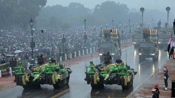 Défilé militaire en Inde organisé à l'occasion de la Journée de république - Sputnik France
