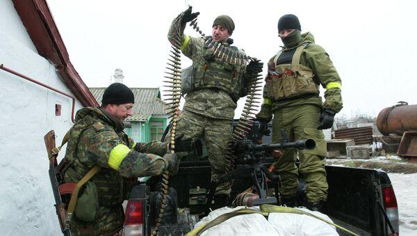 Soldats ukrainiens dans l'est de Ukraine - Sputnik France