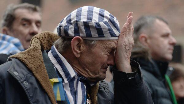 Une cérémonie d'hommage à l'ancien camp d'Auschwitz-Birkenau - Sputnik France